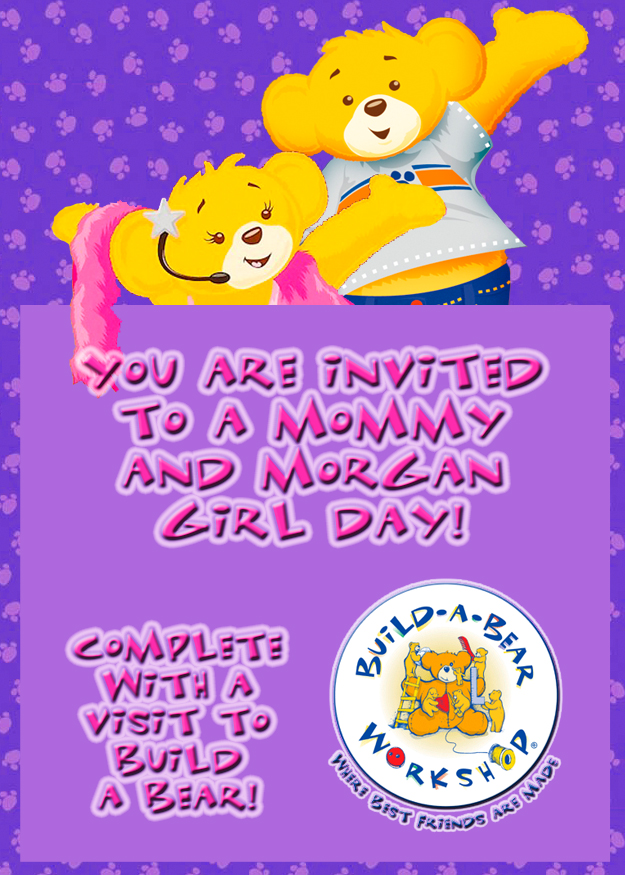 Build A Bear Invitations Birthday Image collections Invitation
